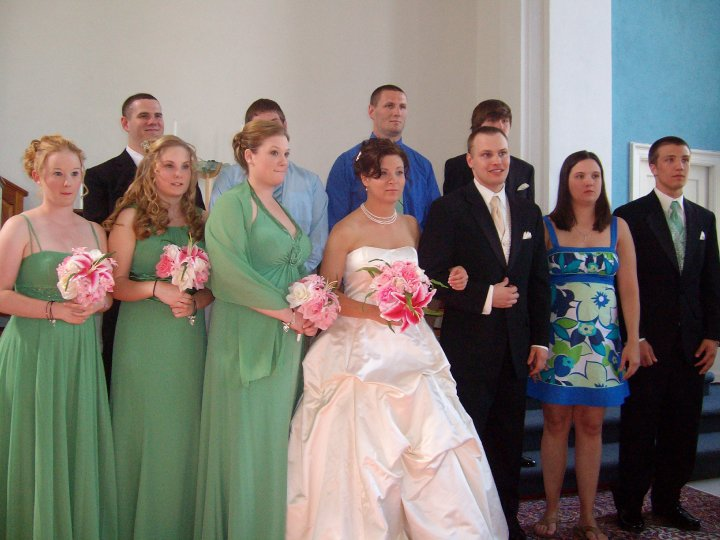 Diaper Under Wedding Dress